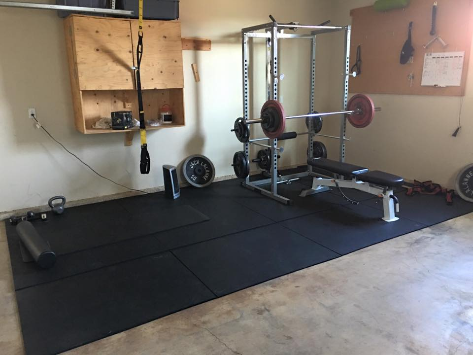 The basics floor plan first garage gym fitness