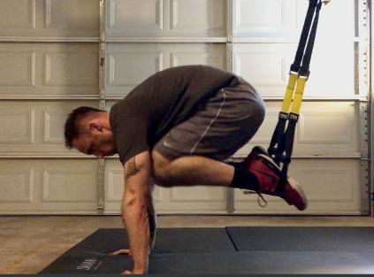 TRX atomic push-ups