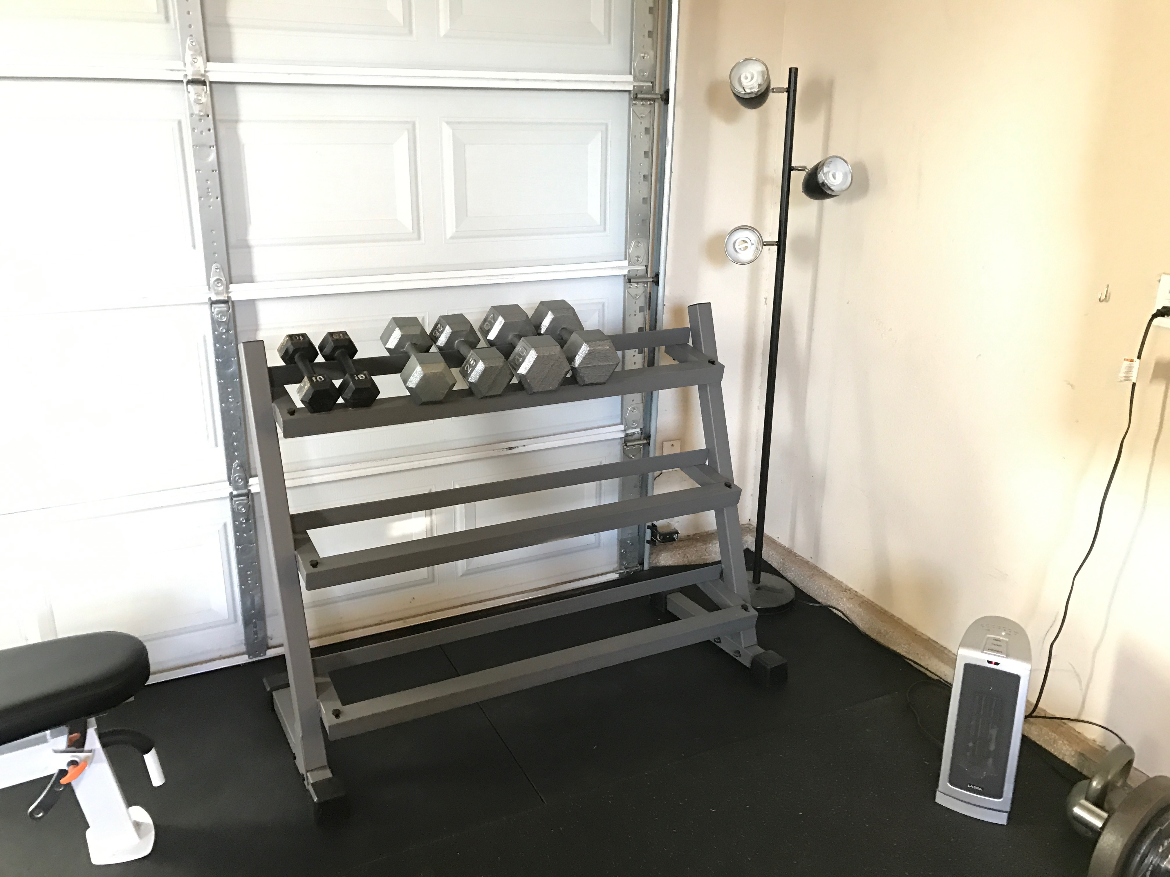 Are dumbbells a home gym necessity garage fitness